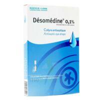 Desomedine 0,1 % Collyre Sol 10fl/0,6ml à Saintes