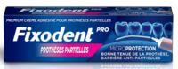 Fixodent Pro Crème Adhésive Pour Prothèse Partielle T/40g à Saintes