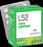 Lehning L52 Comprimés Orodispersibles Plq Pvc/pvdc/alu/100 à Saintes