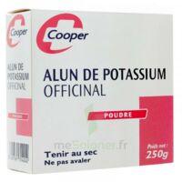 Cooper Alun Potassium Poudre B/250g à Saintes