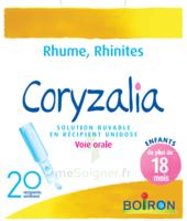 Boiron Coryzalia Solution Buvable Unidose B/20 à Saintes
