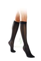 Sigvaris Styles Motifs Crochets Chaussettes  Femme Classe 2 Noir Small Normal à Saintes