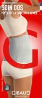 Gibaud - Ceinture Chaleur - Gris - Rouge - Hauteur 25cm - Taille S