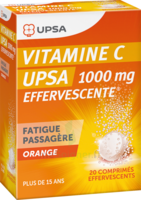 Vitamine C Upsa Effervescente 1000 Mg, Comprimé Effervescent à Saintes